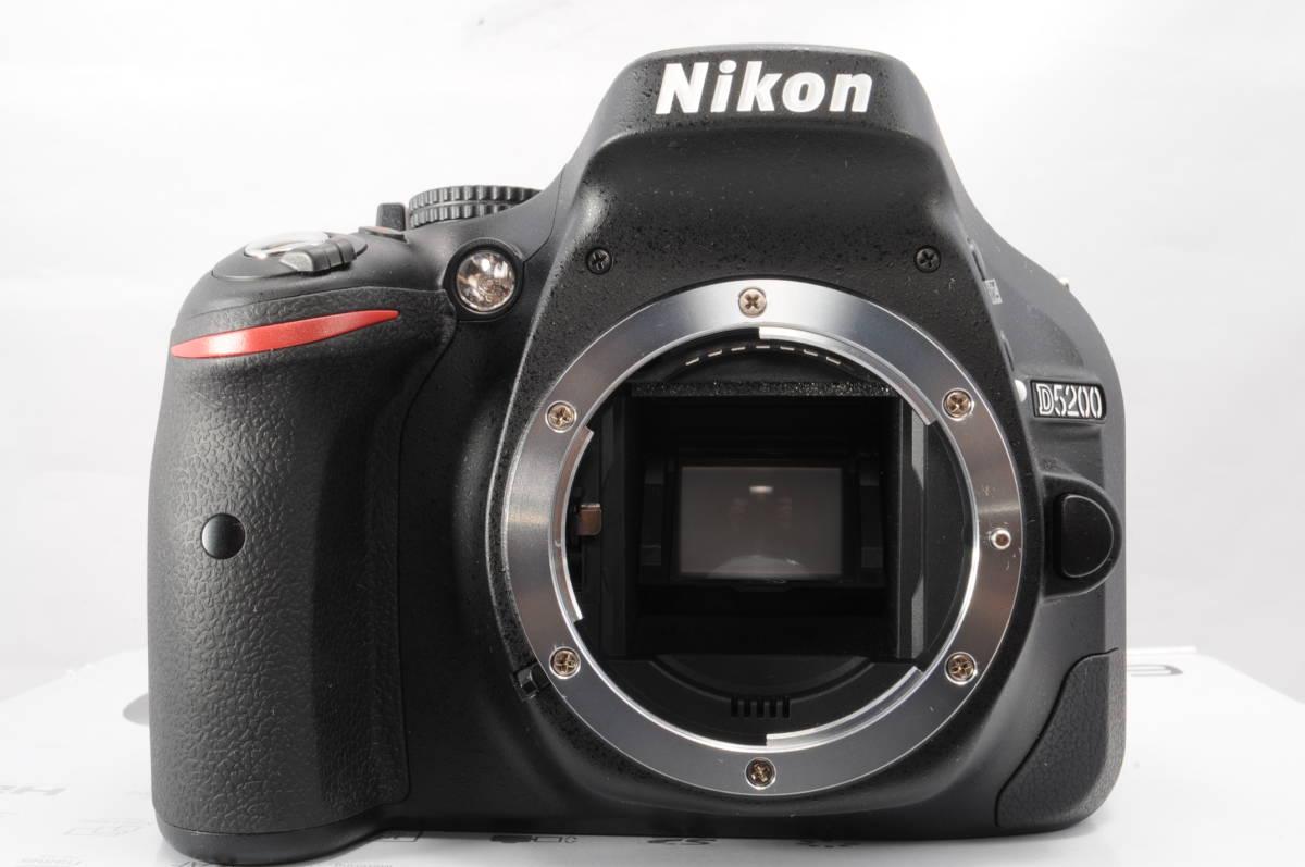 wifi sd 8G 新品級 NIKON ニコン D5200 18-55mm 3.5-5.6G G II VR 手振れ補正!_画像2