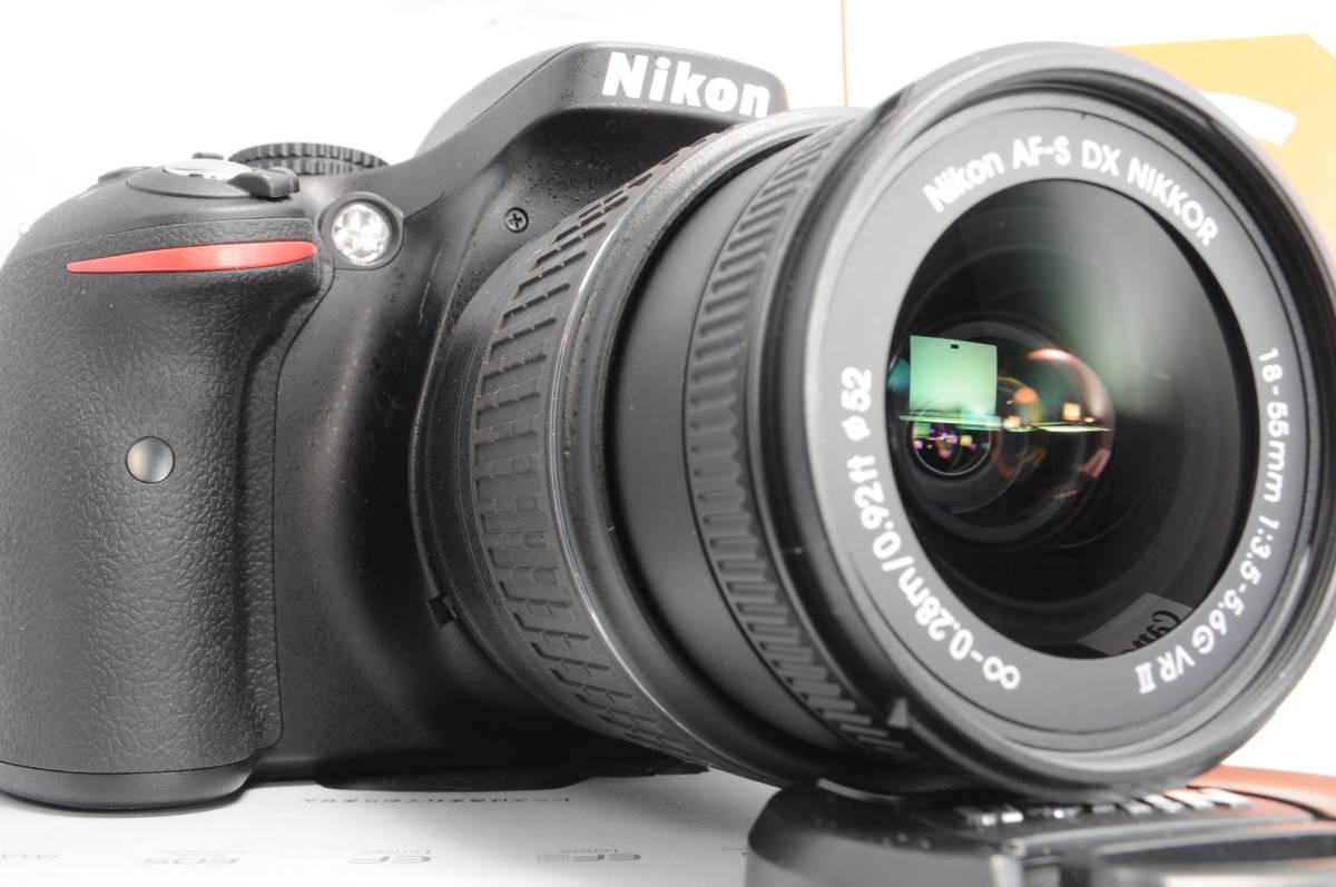 wifi sd 8G 新品級 NIKON ニコン D5200 18-55mm 3.5-5.6G G II VR 手振れ補正!_画像9