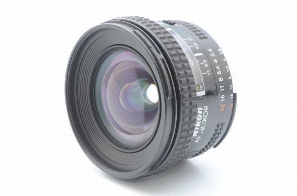 ★1円~ 美品 動作良好 ニコン Nikon AF Nikkor 20mm F2.8 201008