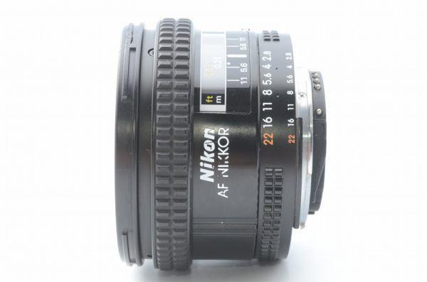 ★1円~ 美品 動作良好 ニコン Nikon AF Nikkor 20mm F2.8 201008_画像3