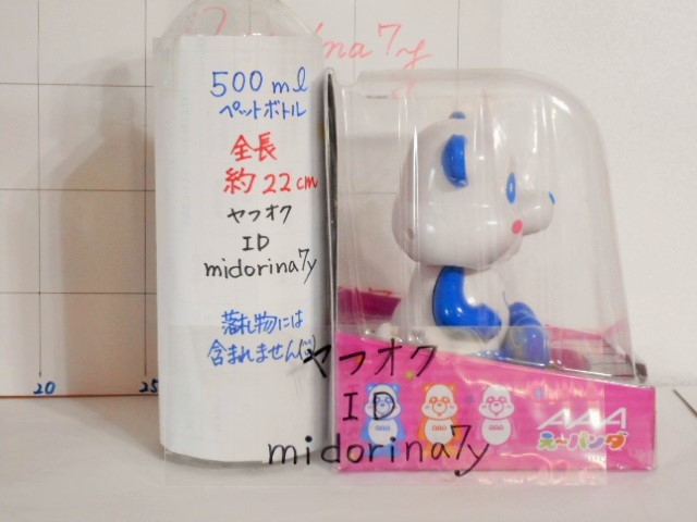 AAA/AAA/え~パンダ/トリプルA/ゆらゆらソーラー/ブルー/青色/與真司郎/フィギュア_画像4
