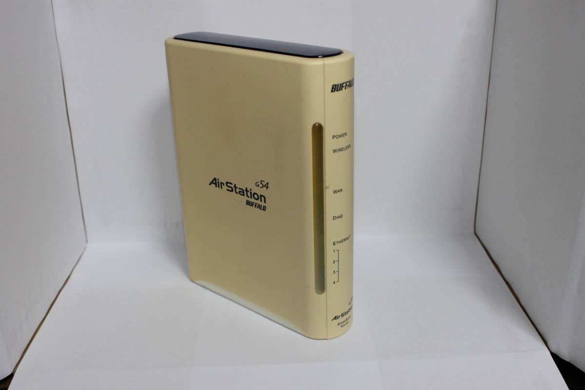 ☆中古・動作確認済み☆2.4GHz・54Mbps無線LAN AirStation BroadBandルータハイエンドモデル WHR2-G54