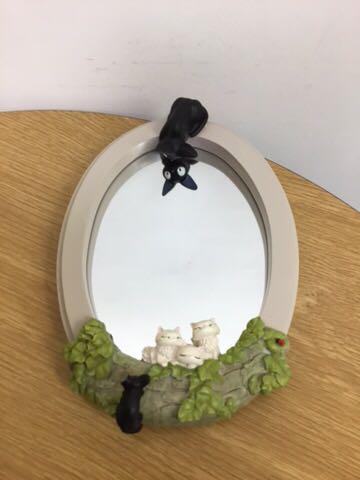 魔女の宅急便 壁掛けミラーコレクション●鏡 約22×16cm●USED●スタジオジブリ