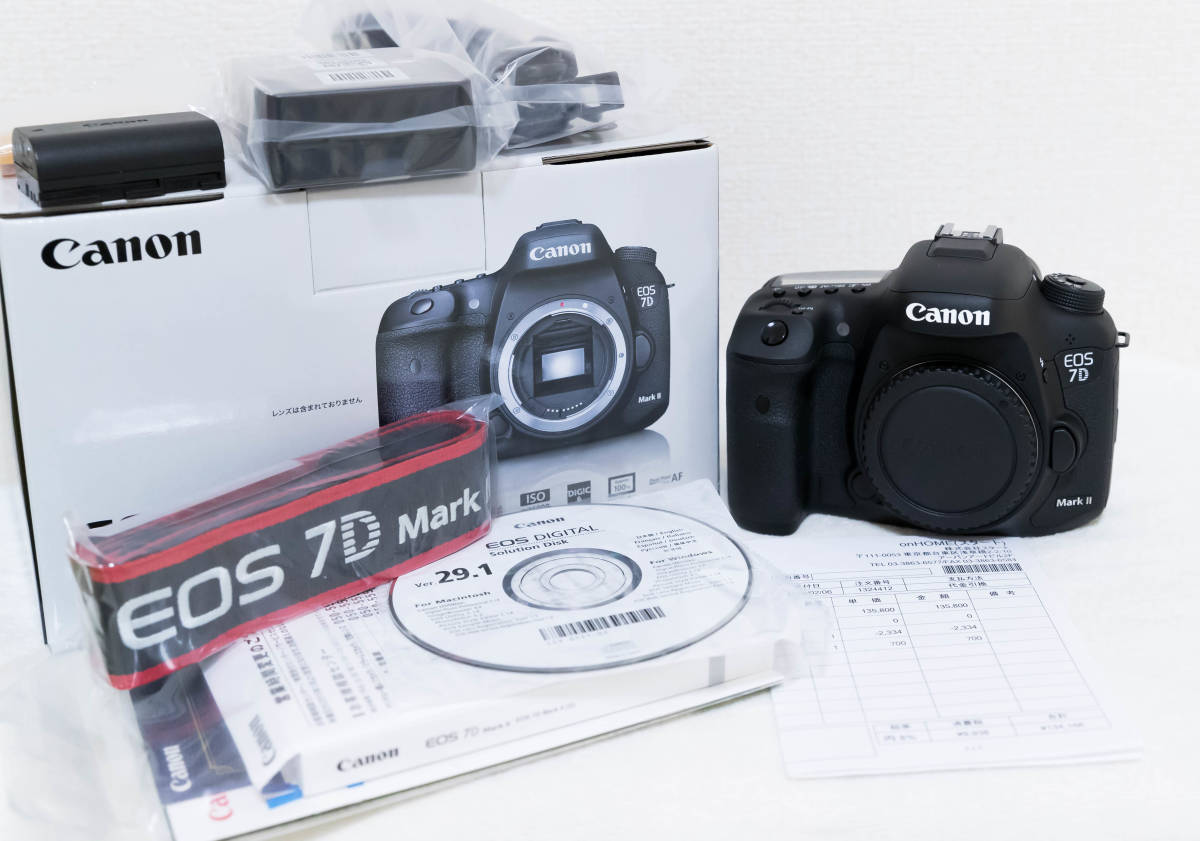 【美品】 CANON EOS 7D Mark ii