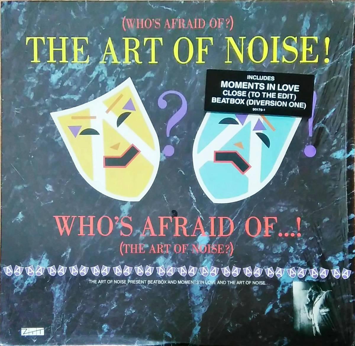 Lpthe Art Of Noise Whos Afraid Of Art Ob Noise Art Ob