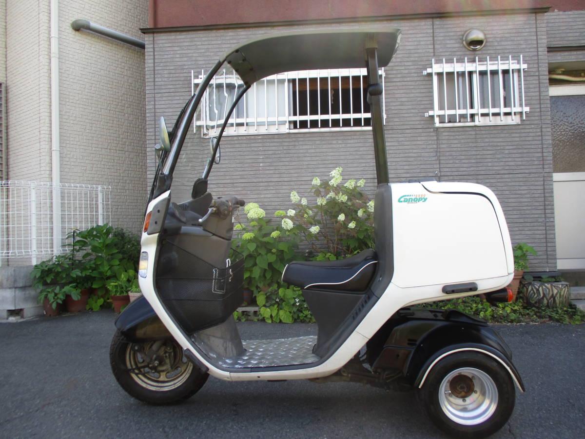 1スタ 東京発 ジャイロキャノピー50 TA02 2スト後期型 公認ミニカー登録 GYRO Canopy 純正グリップヒーター付_画像2