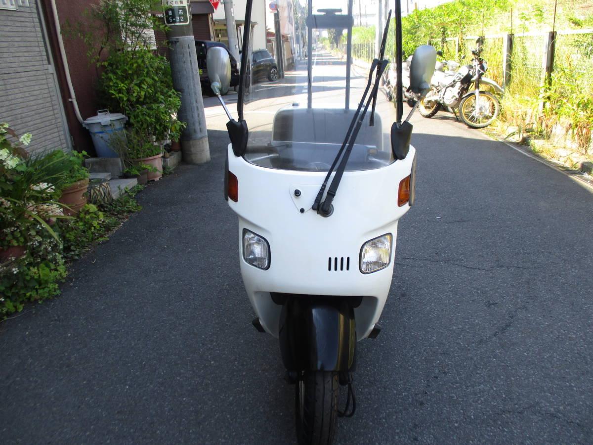 1スタ 東京発 ジャイロキャノピー50 TA02 2スト後期型 公認ミニカー登録 GYRO Canopy 純正グリップヒーター付_画像3