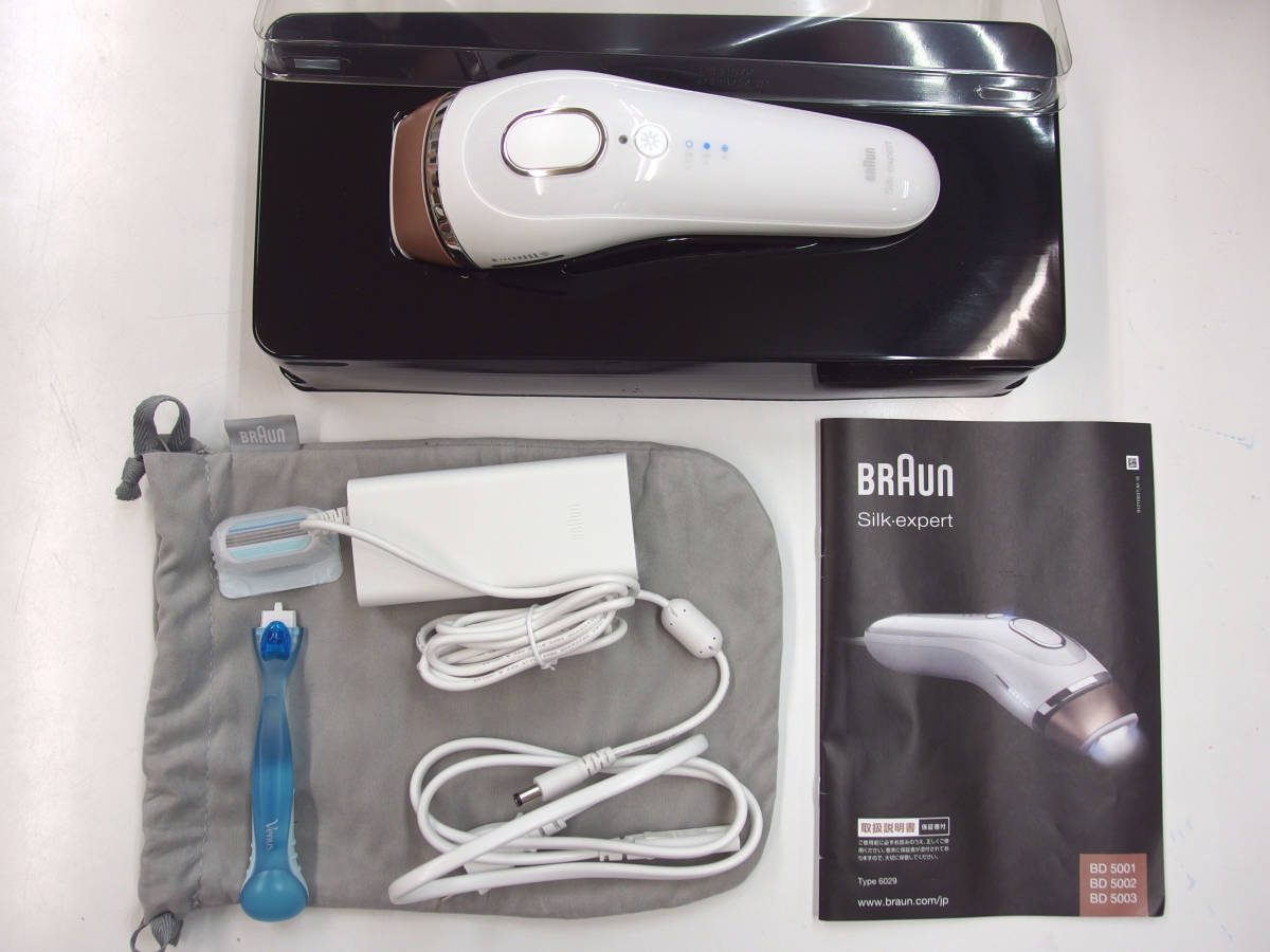 BRAUN BD5003 【送料無料】 [光美容器] シルクエキスパート