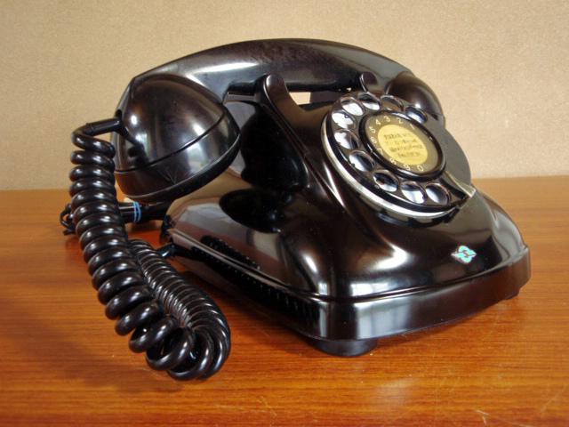 ●昭和の4号黒電話●整備済み 光回線可/モジュラーケーブル延長可(アダプター付き) 昭和35年_画像10