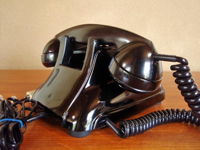 ■昭和の4号黒電話■整備済み 光回線可/モジュラーケーブル延長可 昭和38年_画像6