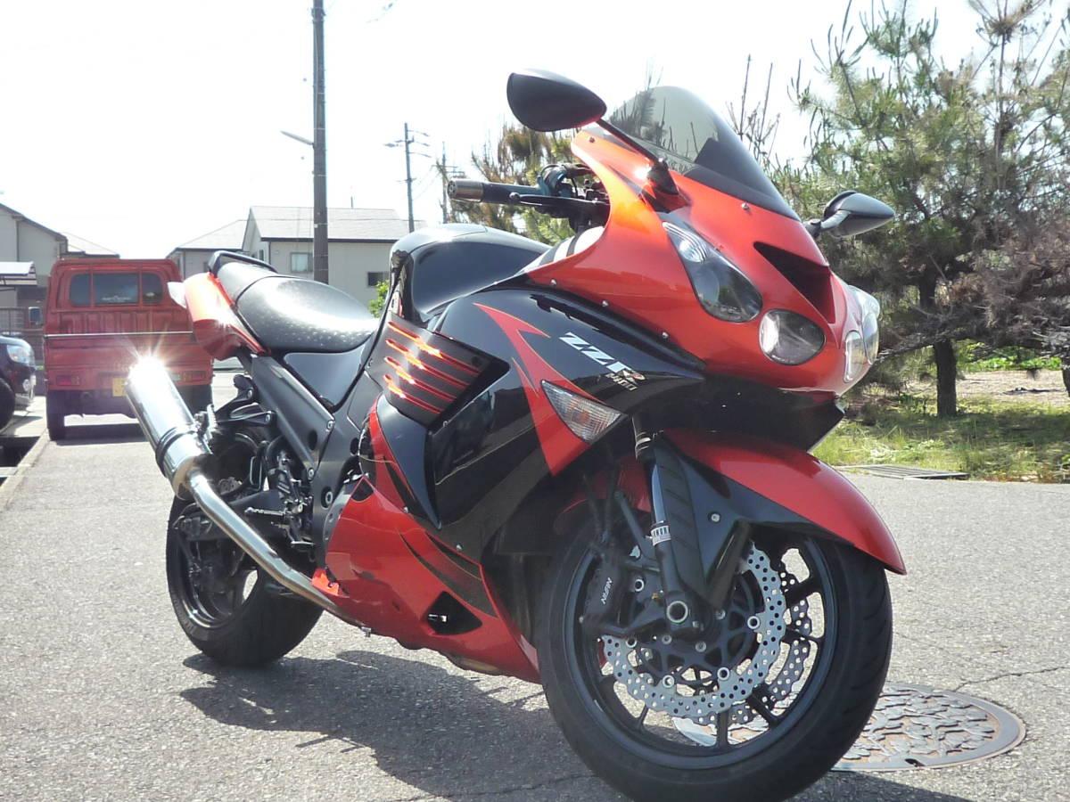 予備検査付 カワサキ ZZR1400 2009年式 スペシャルエディション ZXT40C 改造多数 H21年4月登録 ETC バックステップ Kawasaki 愛知県春日井
