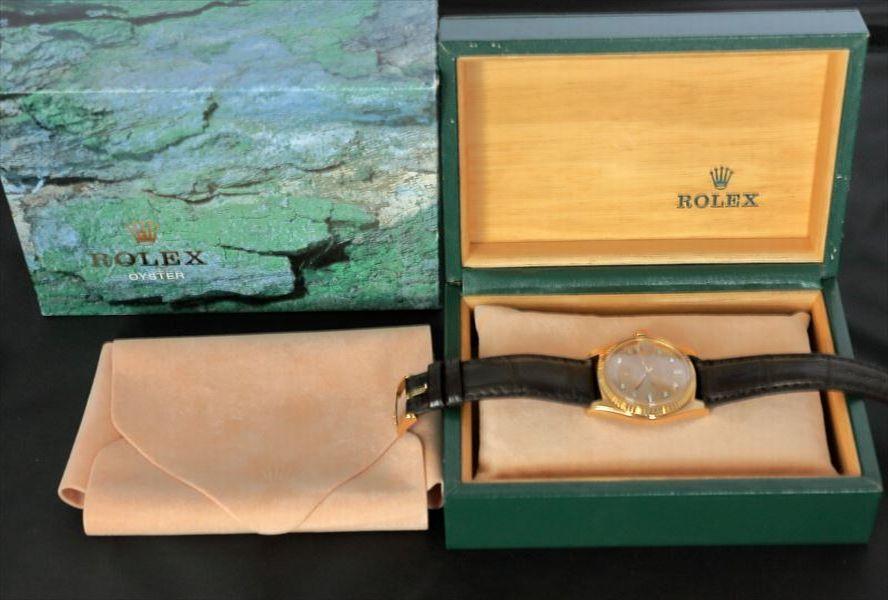 美品 ROLEX デイデイト 1803A K18YG 10P ダイヤ シャンパン 日ロレOH見積もり 専門店OH済み_画像5