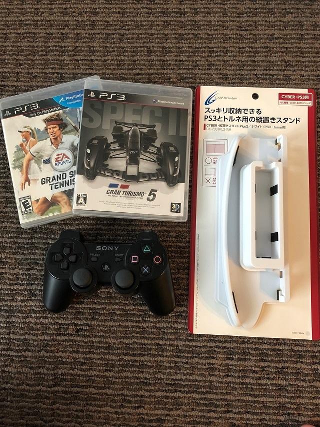 ☆ SONY PS3 (250GB) CECH-4000B オマケ付き (中古) ☆_画像3