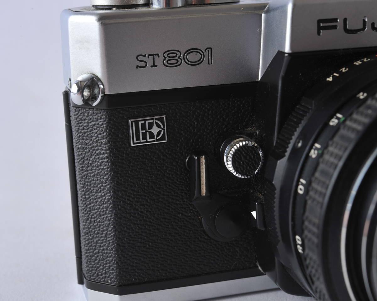 フジカ FUJICA ST801 FUJINON 1.4/50 ボディー、レンズセット ジャンク_画像4