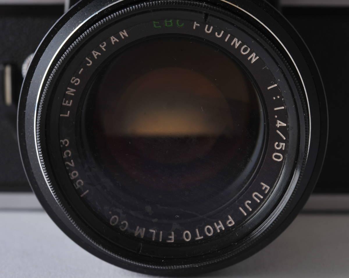 フジカ FUJICA ST801 FUJINON 1.4/50 ボディー、レンズセット ジャンク_画像3