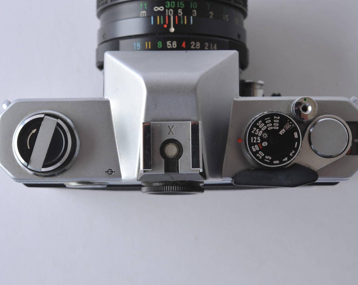 フジカ FUJICA ST801 FUJINON 1.4/50 ボディー、レンズセット ジャンク_画像7