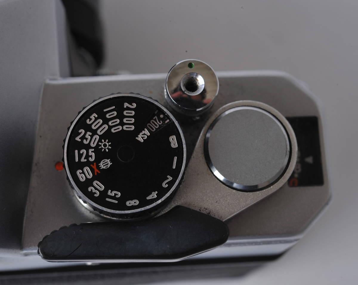フジカ FUJICA ST801 FUJINON 1.4/50 ボディー、レンズセット ジャンク_画像9