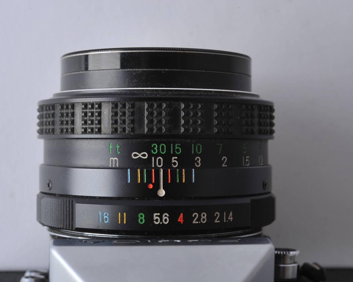 フジカ FUJICA ST801 FUJINON 1.4/50 ボディー、レンズセット ジャンク_画像6