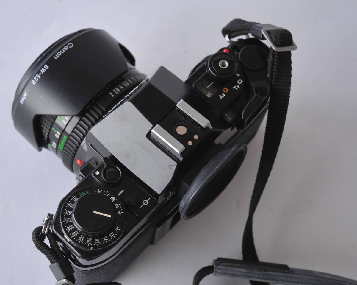 キャノン Canon A-1 ボディー、レンズ 3本セット 35/2、35-105 3.5-4.3、35/2.5_画像4