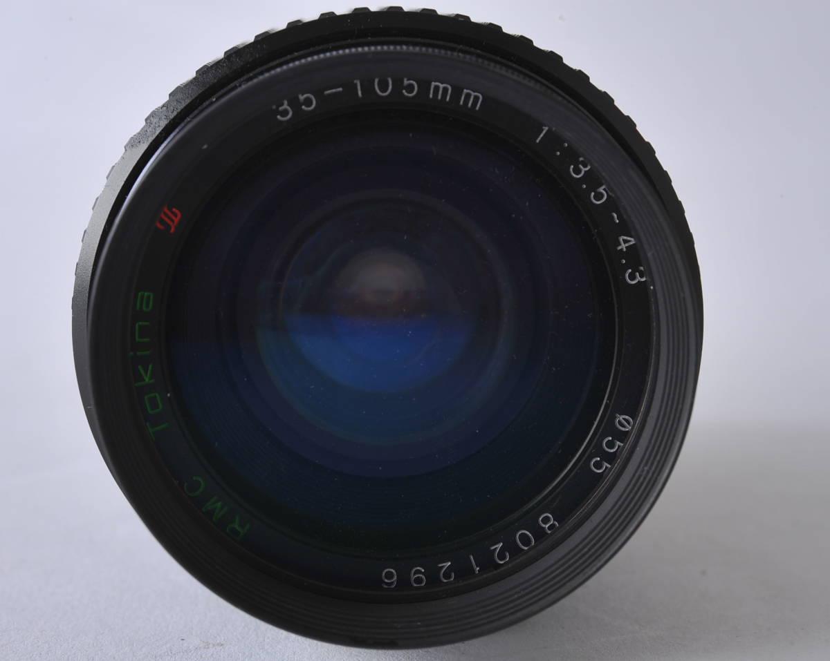 キャノン Canon A-1 ボディー、レンズ 3本セット 35/2、35-105 3.5-4.3、35/2.5_画像7