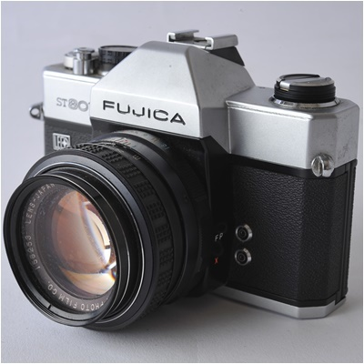 フジカ FUJICA ST801 FUJINON 1.4/50 ボディー、レンズセット ジャンク