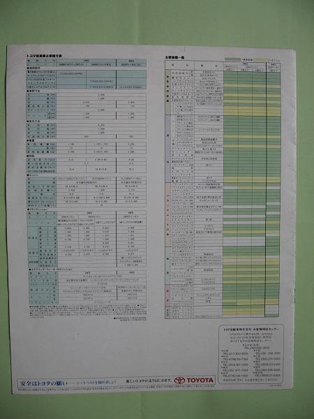 トヨタ 救急車 カタログ_画像2