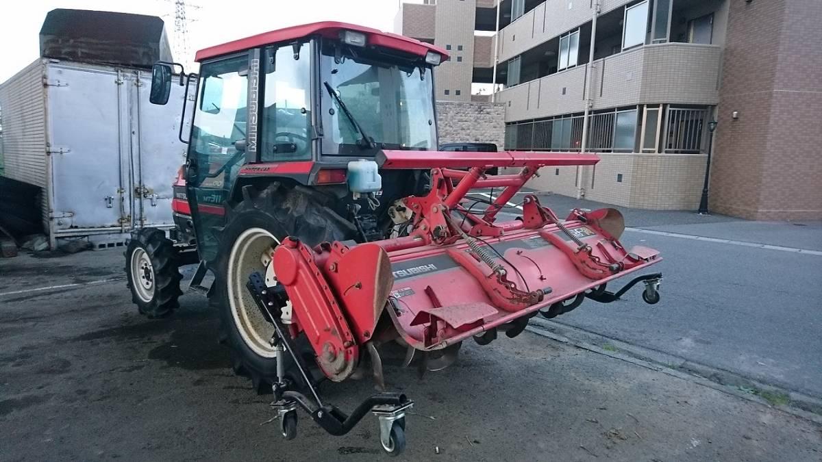 三菱 トラクター MT311 キャビ付き 実働品 売り切り_画像2