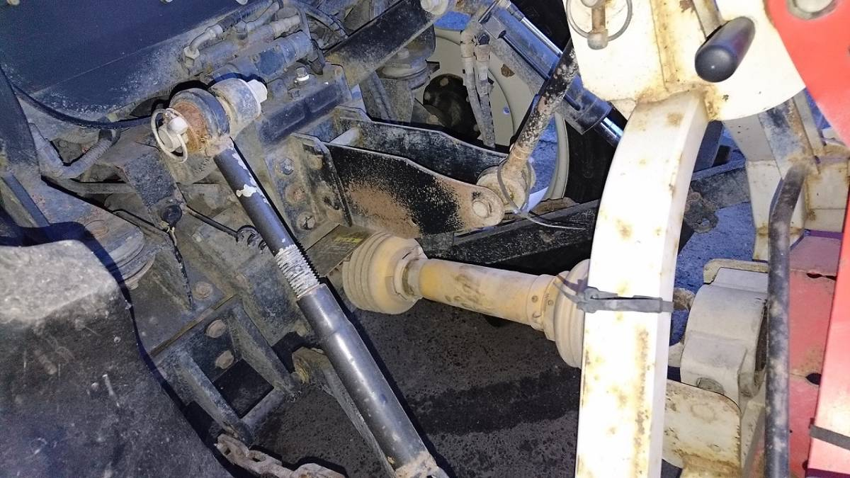 三菱 トラクター MT311 キャビ付き 実働品 売り切り_画像5