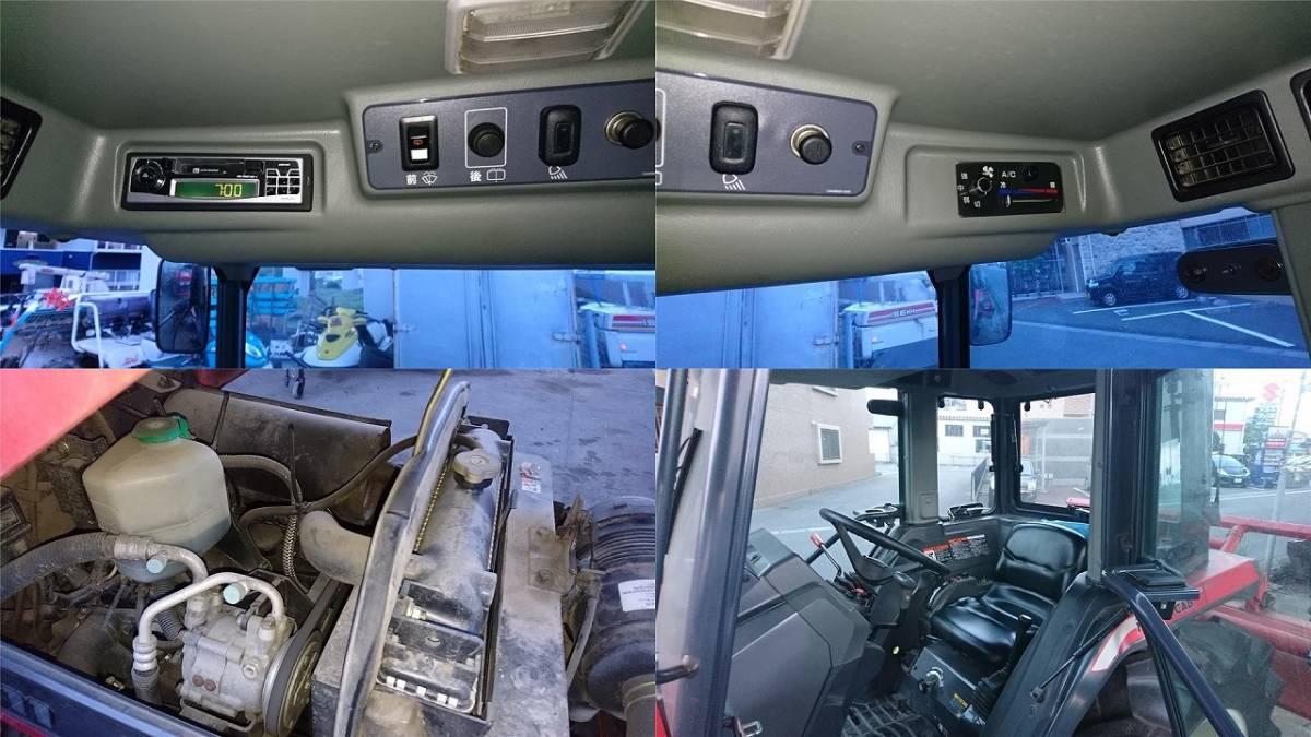三菱 トラクター MT311 キャビ付き 実働品 売り切り_画像9