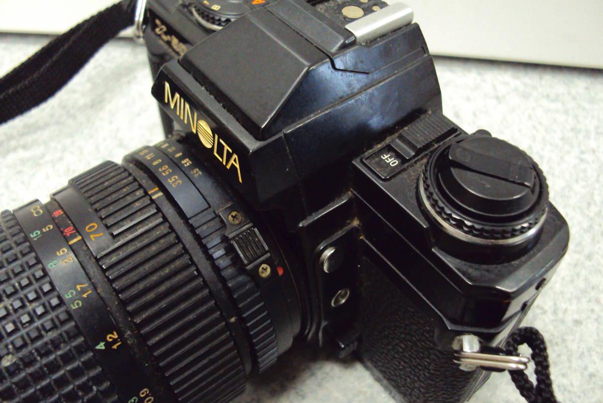 □ ミノルタ MINOLTA X-500 TOKINA 28-70㎜ 1:3.5-4.5 レンズ ジャンク品扱い 激安1円スタート□_画像4