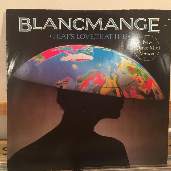 ☆Blancmange/That's Love, That It Is☆KILLER ETHNO COSMIC FUNK!_画像1