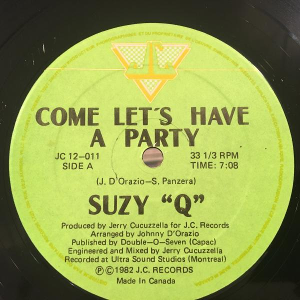 ☆Suzy-Q/Come Let's Have A Party☆KILLER BOOGIE!