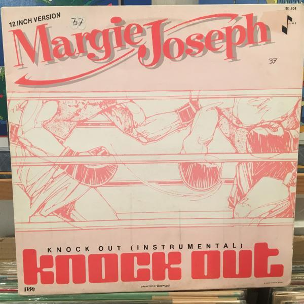 ☆Margie Joseph/Knock Out☆SYNTH BOOGIE!_画像1