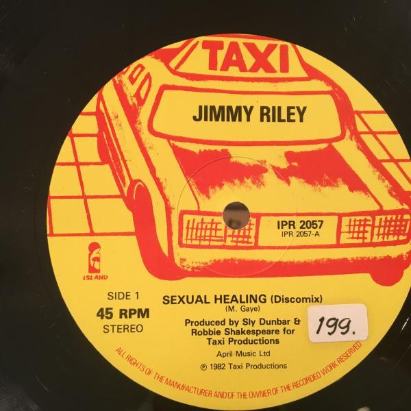 ★Jimmy Riley/Sexual Healing★ソウル名曲カバー!