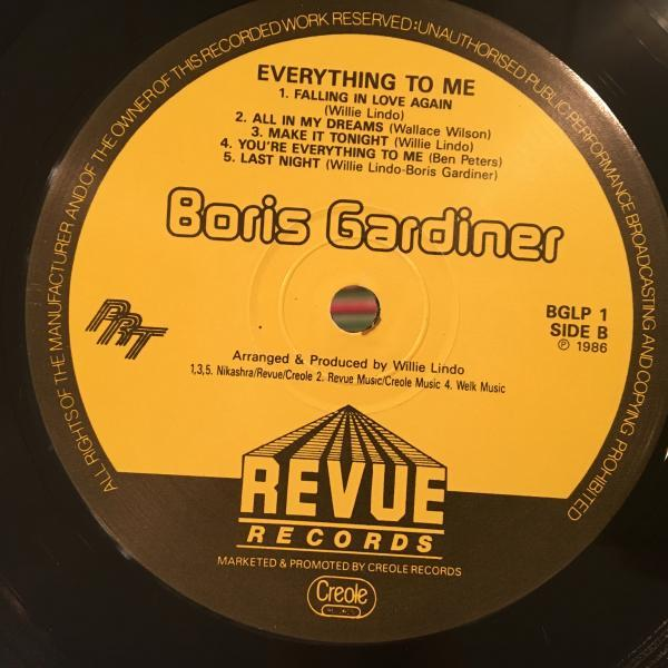 ★Boris Gardiner/Everything To Me★LOVERS ROCK名作LP_画像3