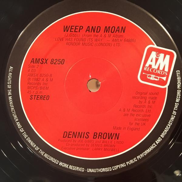 ★Dennis Brown/Halfway Up Halfway Down★KILLER ROOTS!_画像3