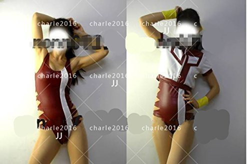 コスプレ衣装 くトップをねらえ!★レオタード・体操服(レザー)風 全セット_画像2