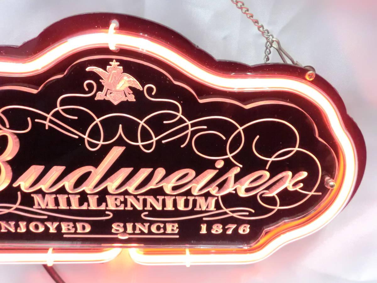 Budweiser バドワイザー ネオン ネオンサイン 照明 電飾 看板 ライト 壁かけ [U]_画像4