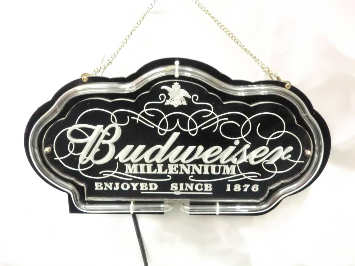 Budweiser バドワイザー ネオン ネオンサイン 照明 電飾 看板 ライト 壁かけ [U]_画像5