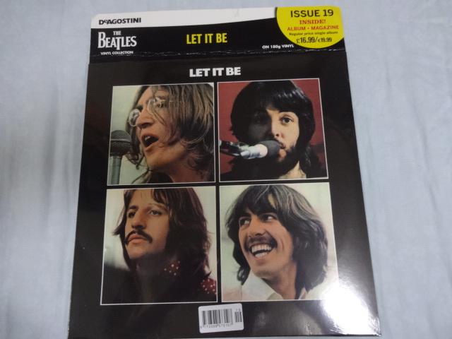 英国オリジナル DeAGOSTINI 第19回 「Let It Be」 開封新品 デアゴスティーニ ビートルズ