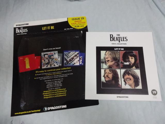 英国オリジナル DeAGOSTINI 第19回 「Let It Be」 開封新品 デアゴスティーニ ビートルズ_画像3