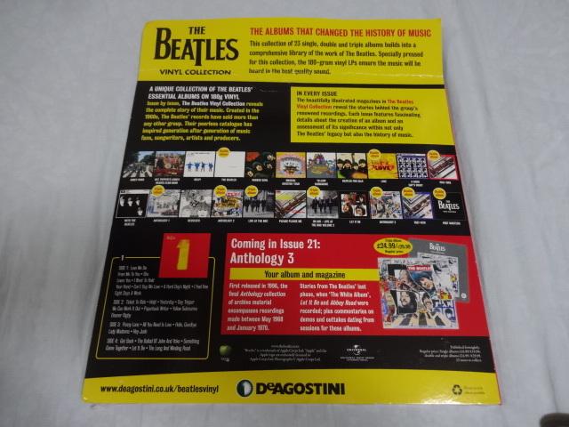 英国オリジナル DeAGOSTINI 第20回 「The Beatles 1」 新品 デアゴスティーニ ビートルズ_画像2