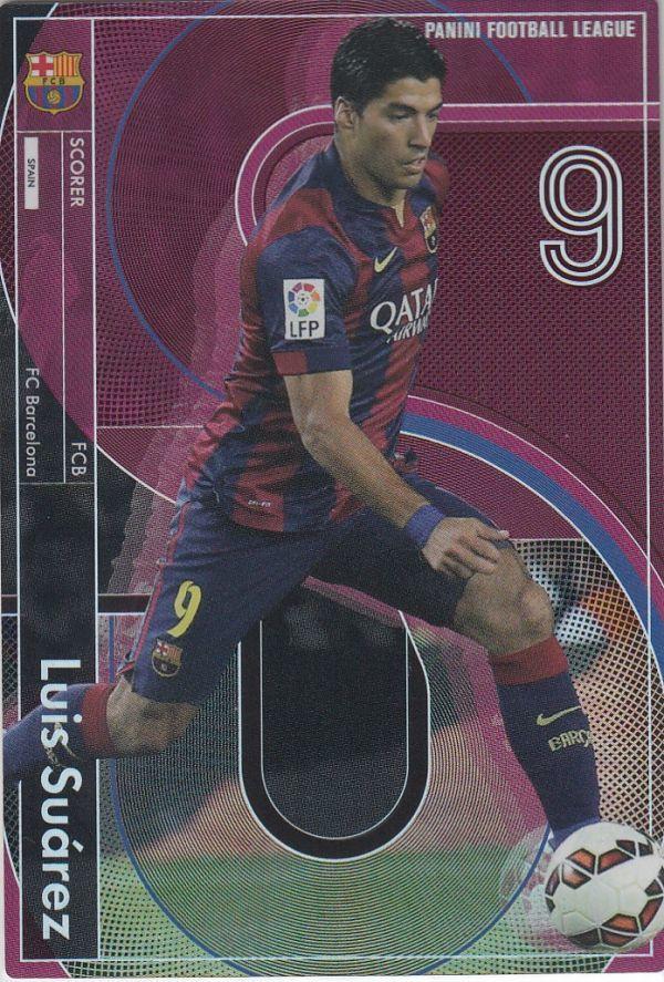 ◆パニーニフットボールリーグ SCORER ルイス・スアレス/バルセロナ PFL09-116