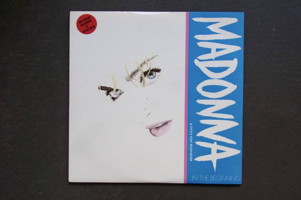12' × 2 UK盤 オリジナル Madonna & Otto Von Wernherr / In The Beginning マドンナ