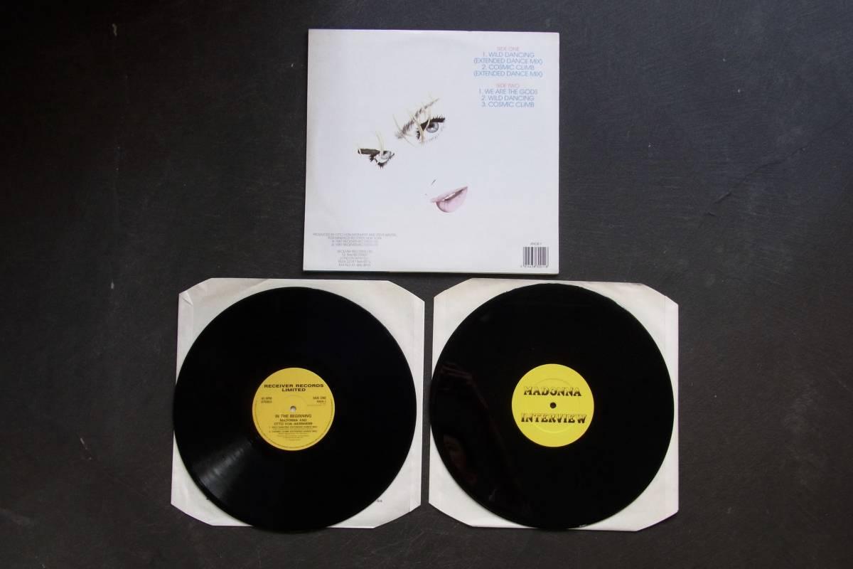 12' × 2 UK盤 オリジナル Madonna & Otto Von Wernherr / In The Beginning マドンナ_画像2
