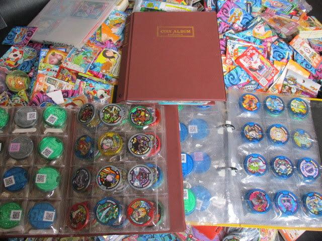 ◆妖怪ウォッチ カード 約5㎏以上◆妖怪メダル ファイル8冊付き バトル トレカ キラあり まとめ 大量 セット♪r-15_画像5