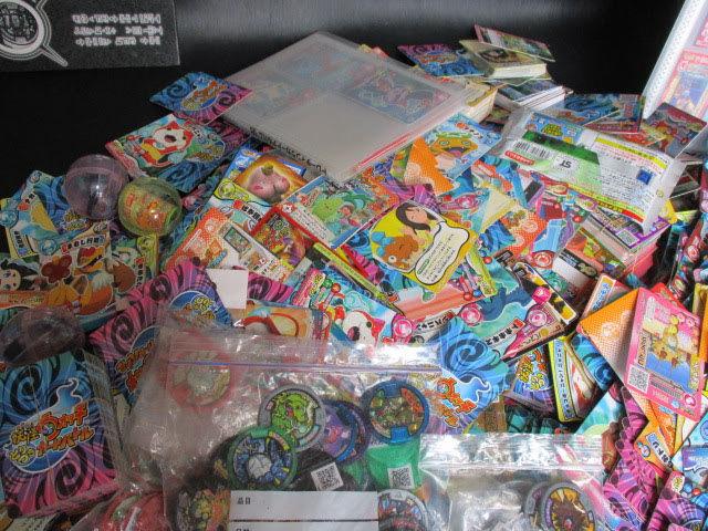 ◆妖怪ウォッチ カード 約5㎏以上◆妖怪メダル ファイル8冊付き バトル トレカ キラあり まとめ 大量 セット♪r-15_画像6