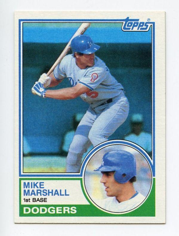 [MLB Card] MIKE MARSHALL 1983 Topps #324 - 来日外国人 マイク・マーシャル 日本ハム_画像1