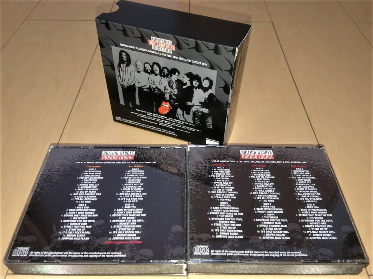 10セット限定/完売★OAKLAND 1994★10CD BOXセット!!'94年10月26/28/29&31日オークランド4公演!初登場極上AUD&定番SBD音源!!_画像2