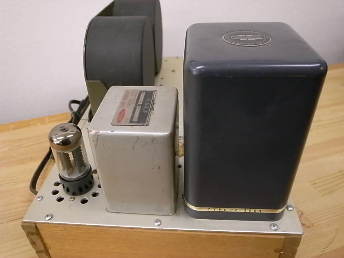 【ジャンク】 自作真空管アンプ PLITRON出力トランス付き 部品取りにどうぞ KT-88で動作確認済_画像5